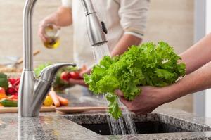 lavar salada