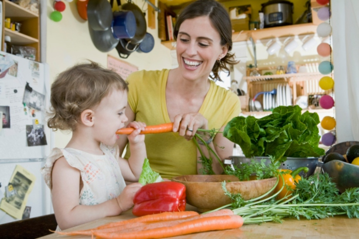 Mercado Alimentar_Criança_comer saudável